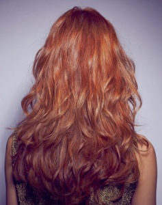 Long layered hairstyles back view